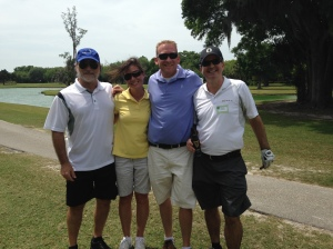 GTE Golf Kevin Lisa Chad and Chris